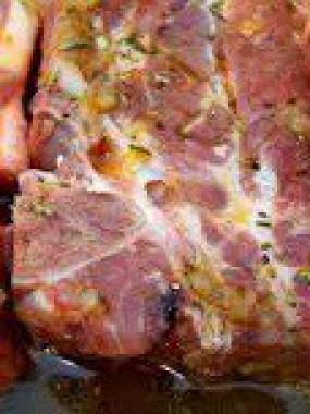 Cote Porc Marinée