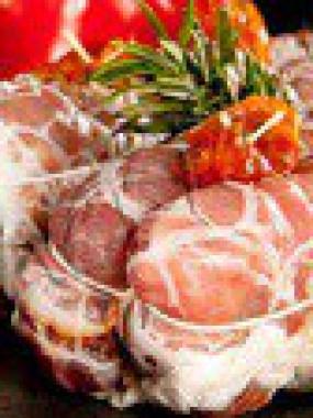 Mignon Porcelet Farci aux truffes de la St-Jean