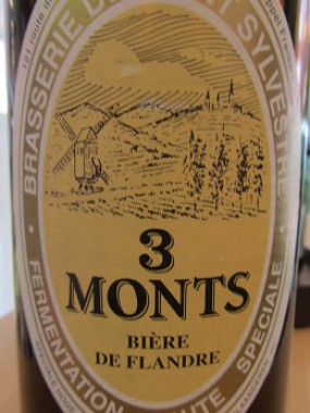 Bière 3 Monts 75 Cl