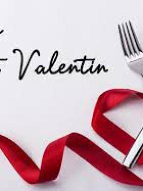 Menu St Valentin