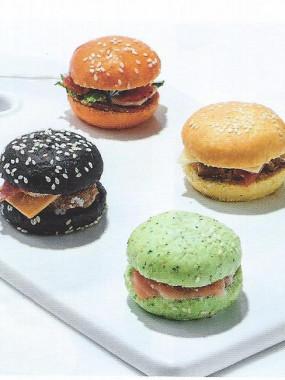 Plateau mini burger 6 pièces