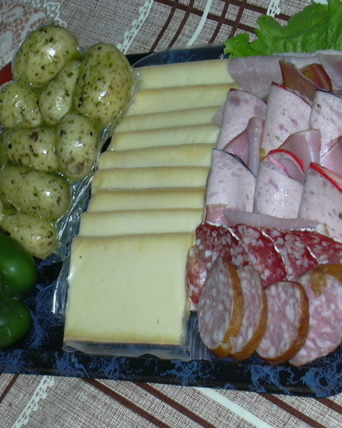 Kit Raclette complet/1pers.