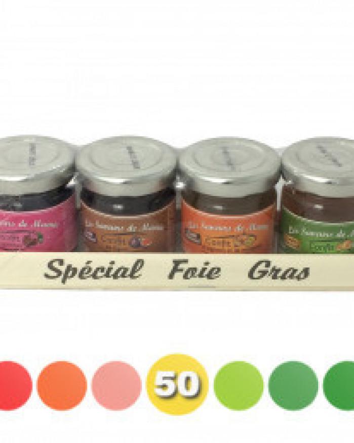 4 confits spécial Foie gras