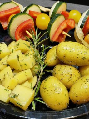 Plateau  Féculents & légumes